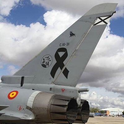 """Eurofighter EF2000 """"Typhoon"""" - ALA14 - Honors the first anniversary of the death of Captain Borja Aybar"""