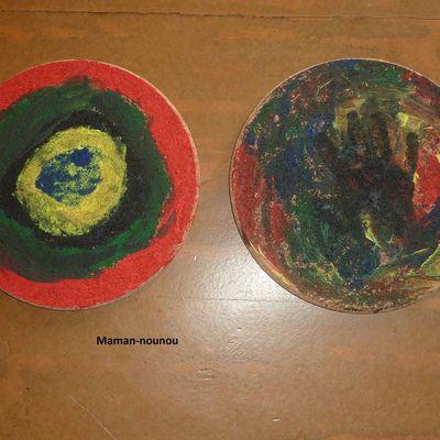 Dessous de plat décoré