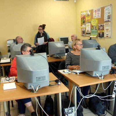 Un nouvel atelier au multimédia de Saint-Paterne-Racan