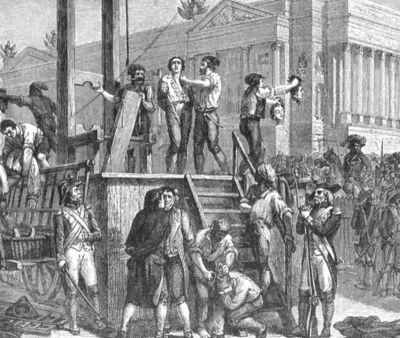 27 juillet 1794: La guillotine