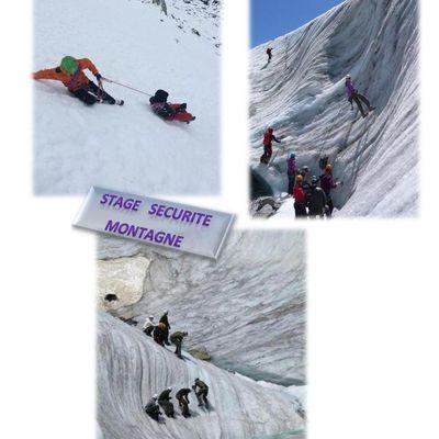 Stage Sécurité Montagne 2A-2B-2Com1 du 26 au 30 Juin - infos du 23-06 à 11h30