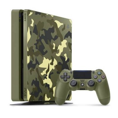 Une Playstation 4 aux couleurs de Call Of Duty WWII