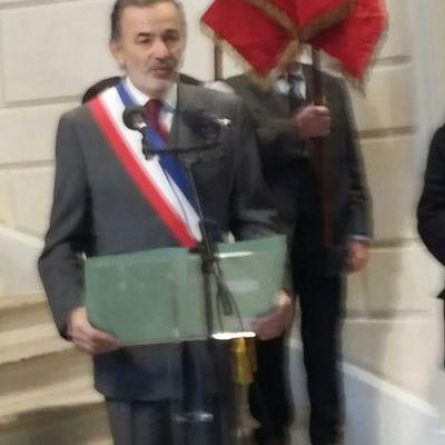 Commémorations du 11 novembre 2016: l'UGF présente en Mairie du 1er et 9ème ardt de Paris