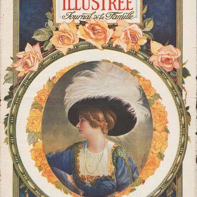 Robe de mariée en 1910
