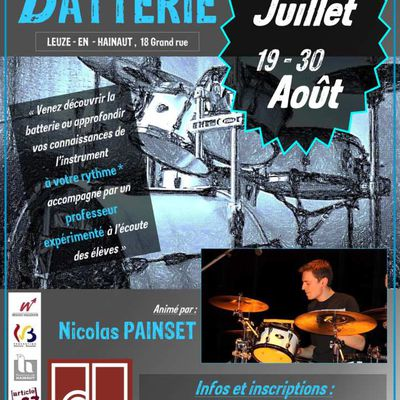 Stages de batterie ! - Juillet 2019