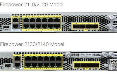 Cisco Firepower 2100 Series, as a NGFW or a NGIPS