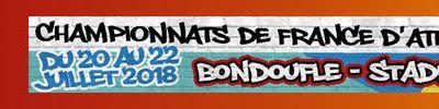 Championnats de France d'Athlétisme Cadets-Juniors 2018