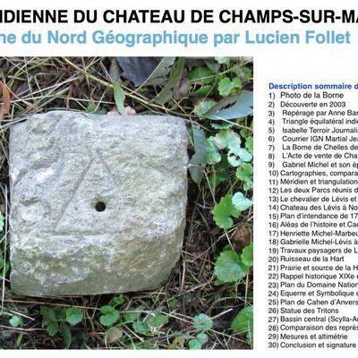 Conférence Université-Inter-Age: La Méridienne du château de Champs