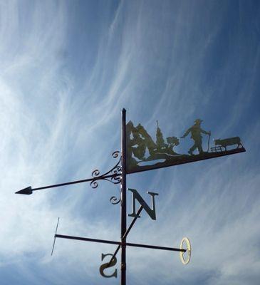 Girouette en Vallée d'Abondance