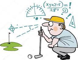 Cours de golf au mois d'Août