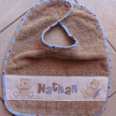 Bavette oursons pour Nathan