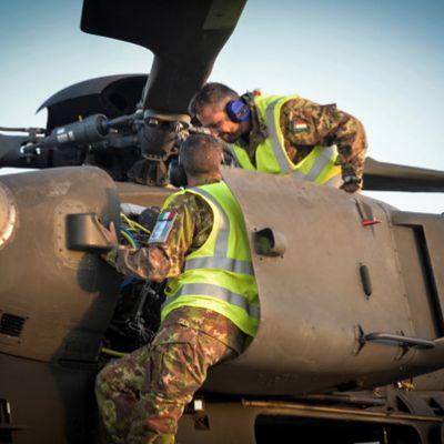 Afghanistan:Mangusta italiani hanno raggiunto 12.000 ore di volo in 10 anni di missione