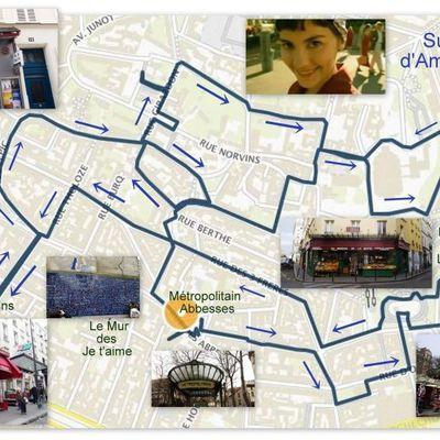 Une visite à Montmartre sur les pas d'Amélie Poulain