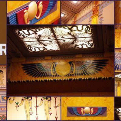 Le cinéma Le Louxor Palais du cinéma à Paris en novembre