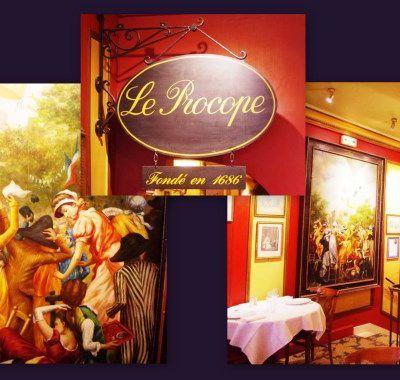 Le Procope à Paris depuis 1686