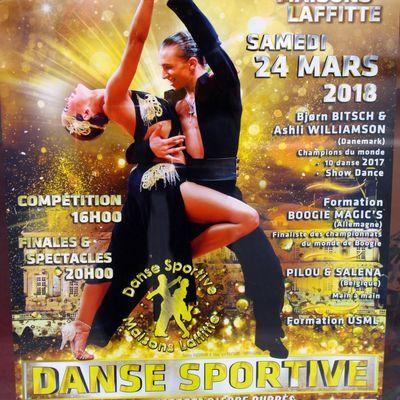 le 34ème tournoi international de danse sportive à Maisons-Laffitte