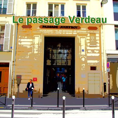 Le passage Verdeau à Paris