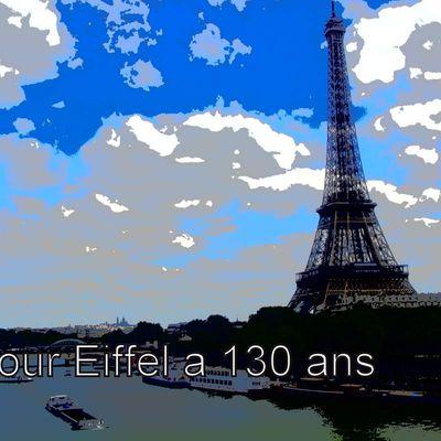 La Tour Eiffel a fêté ses 130 ans en avril 2019