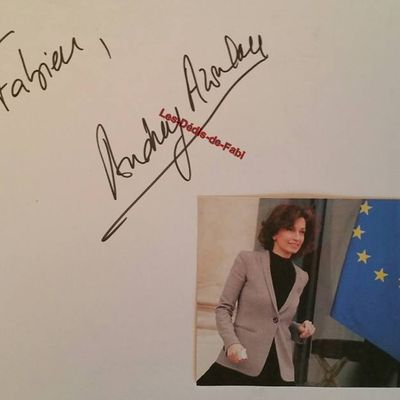 Madame Audrey AZOULAY