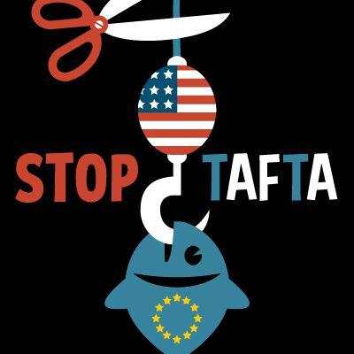 AFFICHE Stop TAFTA