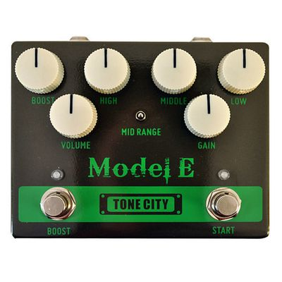 "Test : pédale de distortion TONE CITY "" Model E """