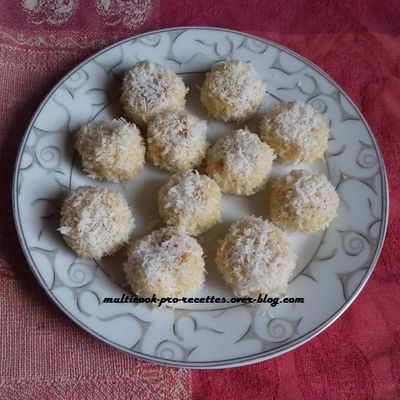 Boules coco marocaines