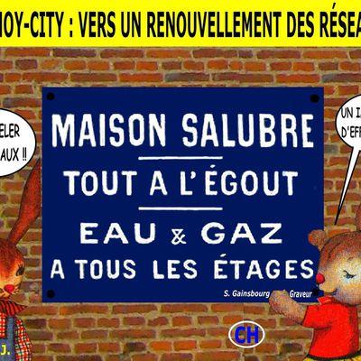 CHARMOY-CITY : LE TUNNEL SOUS LA SAÔNE, ÇA GAZE ! -  du 18 juillet 2019 (J+3865 après le vote négatif fondateur)