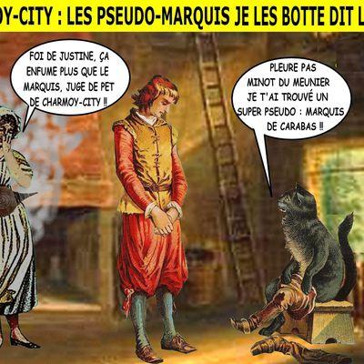 CHARMOY-CITY : MARQUIS, SORS DU MAQUIS !  - du 12 février 2020 (J+4074 après le vote négatif fondateur)