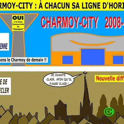CHARMOY-CITY : VERS UN NOUVELLE SKYLINE POUR LE DEUXIÈME TOUR ? - du 2 avril  2020 (J+4124 après le vote négatif fondateur)