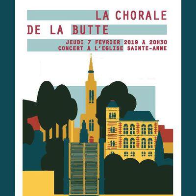 Concert de la Chorale - 07/02