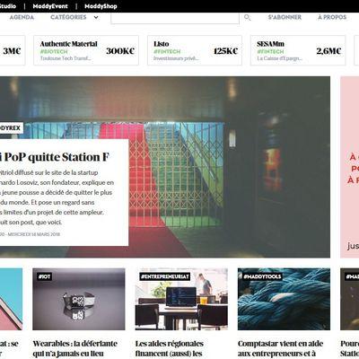 Web / media : MADDYNESS change de look pour plus d'ergonomie