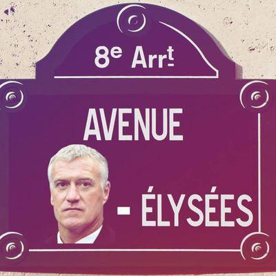 Buzz : Didier Deschamps Elysées