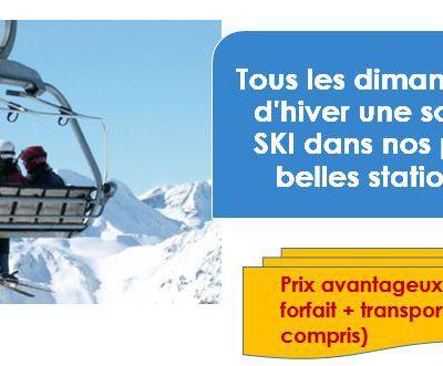 Dimanche 23 Février 2020, ski aux ARCS,