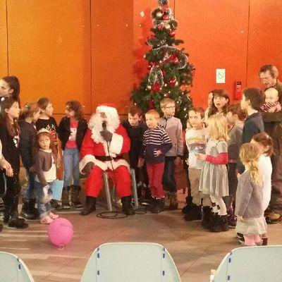 Première apparition du Père Noël à Bessans