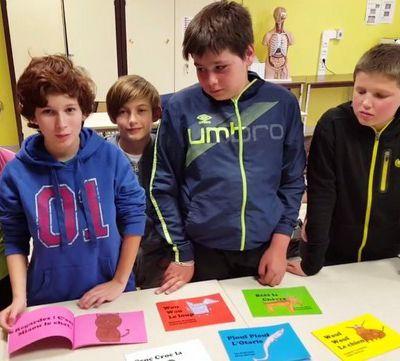 Les élèves de 6ème écrivent, illustrent et font éditer leur album
