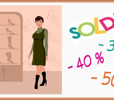 Chaussures confort  / SOLDES : jusqu'à - 50 %