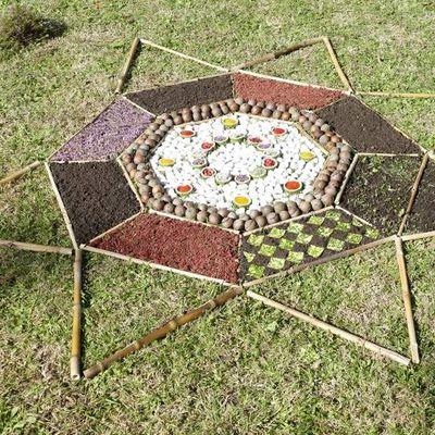 Mandala d'Ginkgo Biloba
