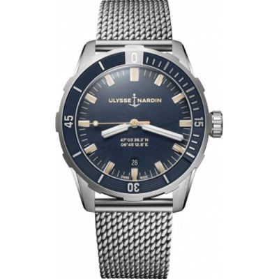 8163-175-7MIL/93 Replica Ulysse Nardin Diver 42mm Watch