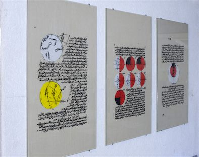 Matière Grise - Mohssin HARRAKI à la galerie Imane Farès, Paris - et dans Diptyk #37