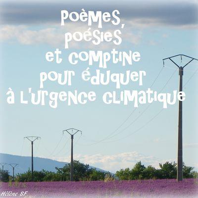 Poèmes, poésies et comptine pour éduquer à l'urgence climatique
