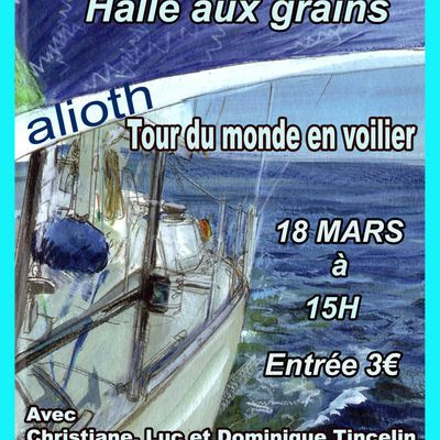 Le team Alioth vous invite à faire le tour du monde