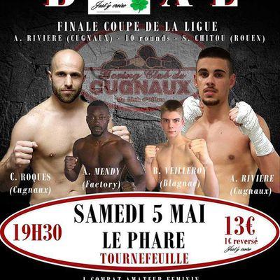 Gala boxe anglaise - samedi 5 mai à Tournefeuille