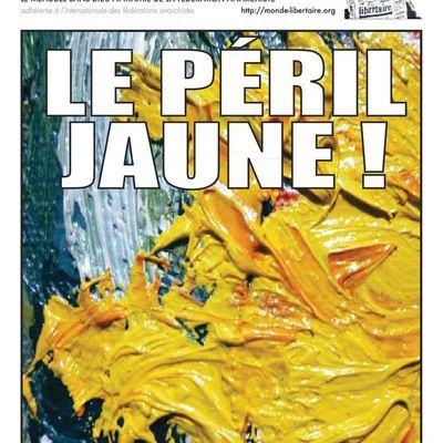 """Le Monde libertaire n° 1802 - Janvier 2019 - Dossier """"Gilets jaunes"""""""