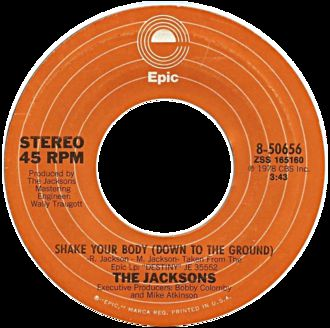09 décembre 1978: Shake Your Body (Down to the Ground)