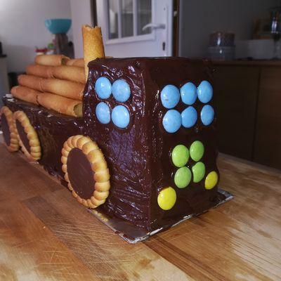 Gâteau Camion Benne