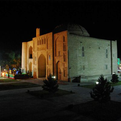 Boukhara by night...