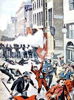 Rosa Luxemburg sur la violence bourgeoise, la prison, l'armée