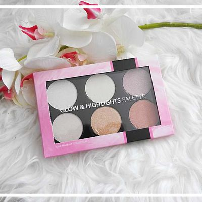 Glow et Highlights palette de chez Action