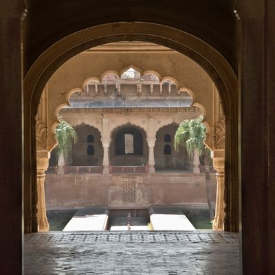 Le palais aux 1000 fontaines muettes: Inde - Rajasthan - Deeg - Water Palace