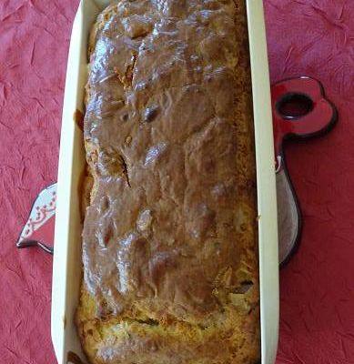 Cake apéro avec les restes du frigo (thermomix ou pas)